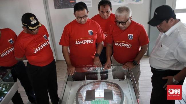 Pembangunan Jakarta International Stadium (JIS) yang berlokasi di Kawasan Taman BMW, Tanjung Priok, Jakarta Utara sudah dimulai pada Kamis (14/3).