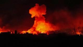 Suriah Klaim Cegat Serangan Rudal Israel Targetkan Kota Hama