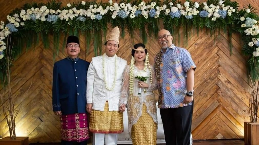 Pesan Haru Indro 'Warkop' di Hari Pernikahan Anak Kedua Dono