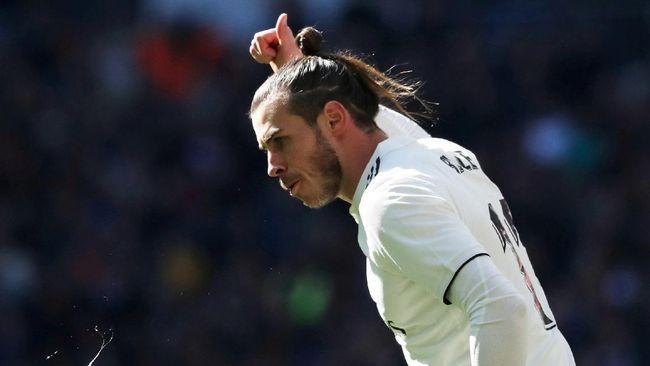 Aksi Gareth Bale menjadi sorotan saat Real Madrid mengalahkan Celta Vigo 2-0 dalam laga lanjutan Liga Spanyol di Santiago Bernabeu, Sabtu (16/3).