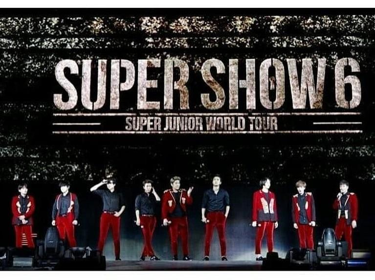 Super Show 6. Rangkaian konser keenam ini, hanya membutuhkan waktu sembilan menit untuk menghabiskan seluruh tiket. Momen ini juga menjadi rangkaian Super Show ke-100 mereka.