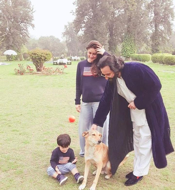 Kareena Kapoor dan Saif Ali Khan punya anak lelaki bernama Thaimur Ali Khan. Tengok fotonya yuk, Bunda. Dijamin bikin gemas!