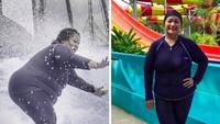 <p>Tike Priatnakusumah berhasil menurunkan berat badannya hingga 25 kg, selama enam bulan. Dari yang semula 103,6 kilogram menjadi 78 kilogram. Diet yang dia jalani adalah dengan mengatur pola makan. (Foto: Instagram @tikeprie)</p>