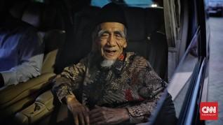 Sudjiwo Tedjo Iri Mbah Moen Wafat di Makkah