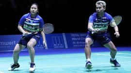 Rinov/Pitha Sumbang Gelar Juara di Spain Master 2021