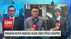 Persiapan Ma'ruf & Sandiaga Jelang Debat Ke-3 Cawapres