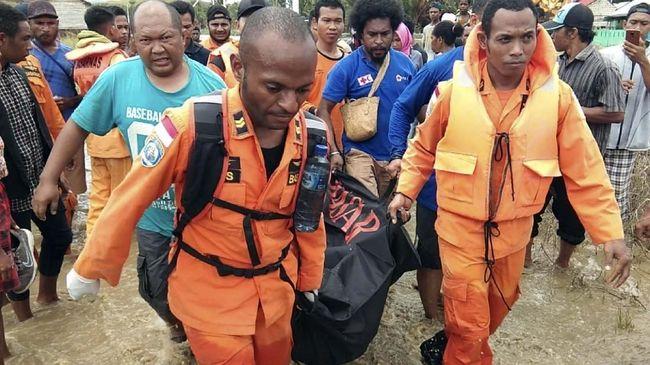Polda Papua mengidentifikasi 74 nama korban banjir bandang di Sentani, dan pihak keluarga pun sudah mengambilnya dari RS Bhayangkara, Jayapura.