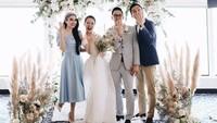 <p>Sandra Dewi, sahabat Yuanita juga hadir, dan menjadi bridesmaid. (Foto: Instagram @yuanitachrist) </p>