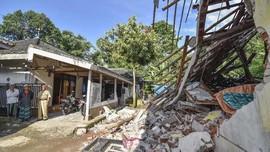 Gempa Sukabumi Rusak 202 Rumah, 3 Luka, 173 Mengungsi