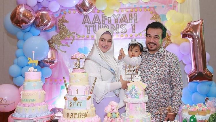 Pasangan Siti Nurhaliza dan Datuk Khalid Mohamad Jiwa memiliki harapan tersendiri soal akan menjadi apa putrinya saat besar nanti.