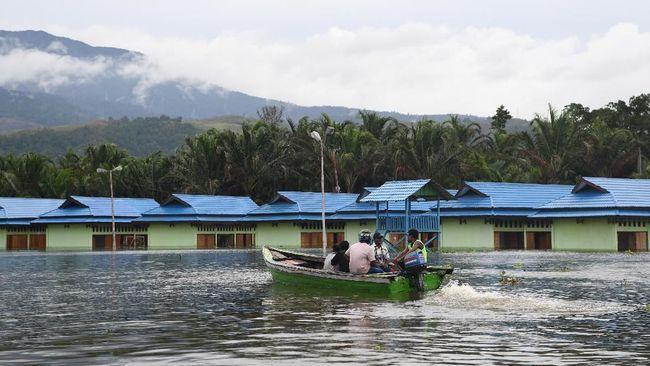 Danau Sentani Meluap, 25 Kampung Terendam