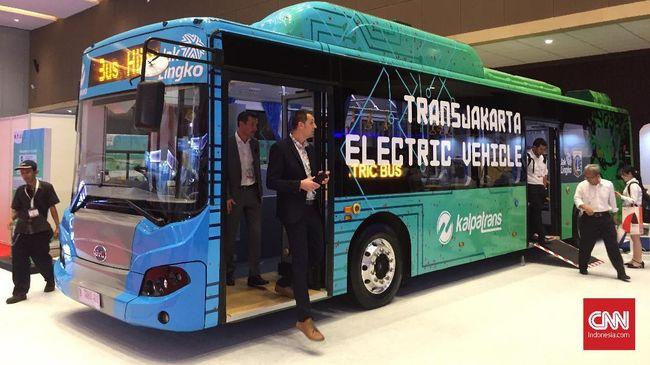 Bus Listrik Transjakarta Masih Menunggu Lulus Uji Tipe