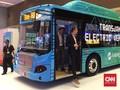 Siap-siap Jajal Bus Listrik Transjakarta dari Senayan-Monas