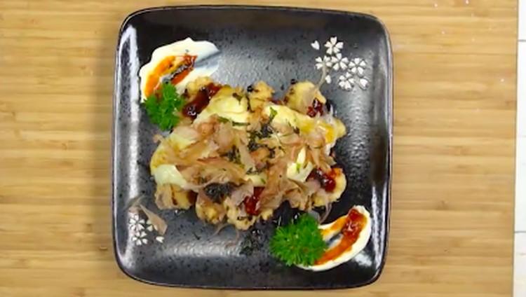 Coba olahan berbeda dari daging gurita yang gurih kriuk satu ini, Bun: resep gurita crispy.