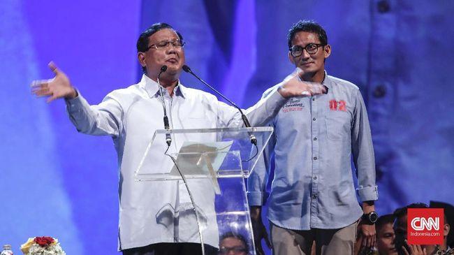Juru Kampanye Badan Pemenangan Nasional (BPN) Ansufri Idrus Sambo menyatakan kampanye Prabowo Subianto-Sandiaga Uno diperkuat oleh campur tangan langit.