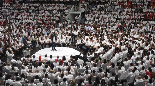Pengamat menilai dukungan pengusaha kepada Jokowi maupun Prabowo cukup potensial dalam memberikan dana kampanye, selain ada deal politik usai Pilpres 2019.