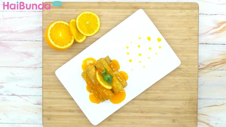 Ingin kudapan sore pengganjal perut dengan rasa asam manis nan segar? Coba olah resep orange toast sugar berikut deh, Bun.