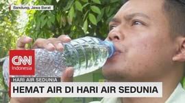 Hemat Air di Hari Air Sedunia