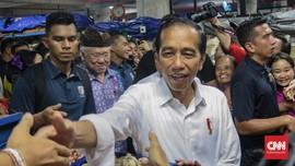 Kunker ke Bali, Jokowi Puji Arsitektur Pasar Badung