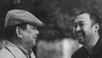 Aneka Momen Kedekatan Didit Prabowo dengan Sang Ayah