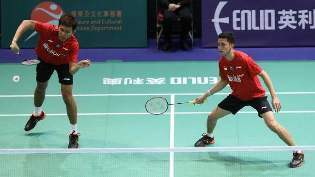 Indonesia berhasil lolos ke semifinal Kejuaraan Bulutangkis Beregu Campuran Asia 2019 setelah menyingkirkan Singapura dengan skor 3-0.