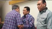 <p>Puan tak seorang diri, melainkan bersama Menteri Pendayagunaan Aparatur Negara dan Reformasi Birokrasi, Syafruddin dan juga Wakil Ketua DPR RI, Utut Adianto. (Foto: Instagram @grandmasteradianto)</p>