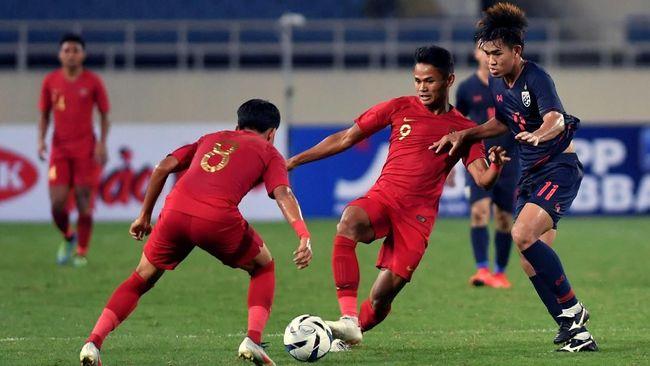 Pertandingan Timnas Indonesia vs Vietnam bisa disaksikan melalui live streaming mulai pukul 19.00 WIB, Minggu (24/3) malam.