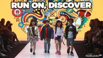 Gemas! Aksi Anak-anak Berlenggok di Catwalk dengan Gaya Trendi