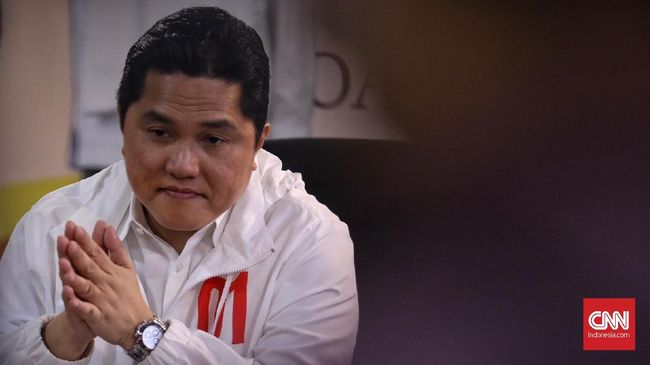 Erick Thohir meminta penegak hukum menindak semua pihak yang terlibat curang kasus surat Jokowi tercoblos di Malaysia, tak terkecuali oknum TKN.