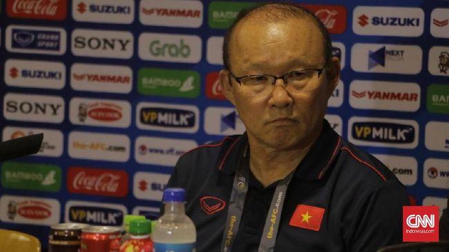 Pelatih Vietnam Park Hang Seo percaya diri untuk meraih kemenangan untuk kali ketiga lawan Indonesia termasuk di final SEA Games 2019.