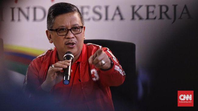Sekjen PDIP Hasto Kristiyanto menilai Dahlan Hasan Nasution yang mundur sebagai bupati Mandailing Natal tidak menjalankan amanah rakyat yang telah memilihnya.