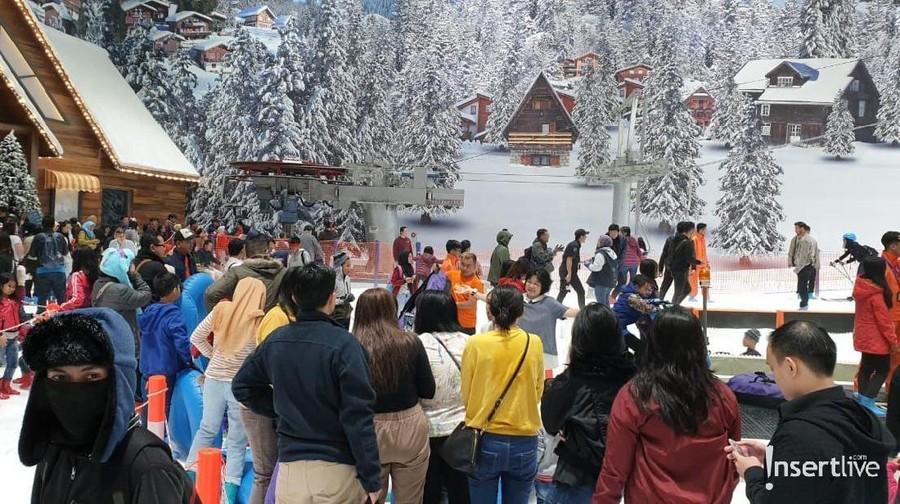 Intip Area Seru di Trans Snow World Bekasi