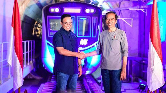 Gubernur DKI Jakarta Anies Baswedan menyebut Presiden Republik Indonesia Joko Widodo mendukung rencana gelaran Formula E di Jakarta.