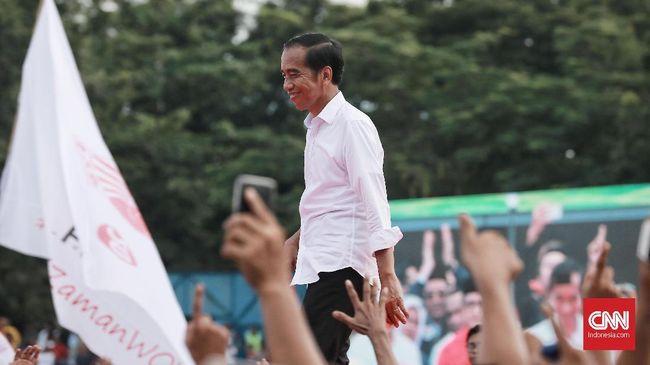 Calon presiden nomor urut 01 Joko Widodo mengatakan pihaknya menargetkan suara nasional antara 58 persen - 62 persen pada Pilpres 2019.