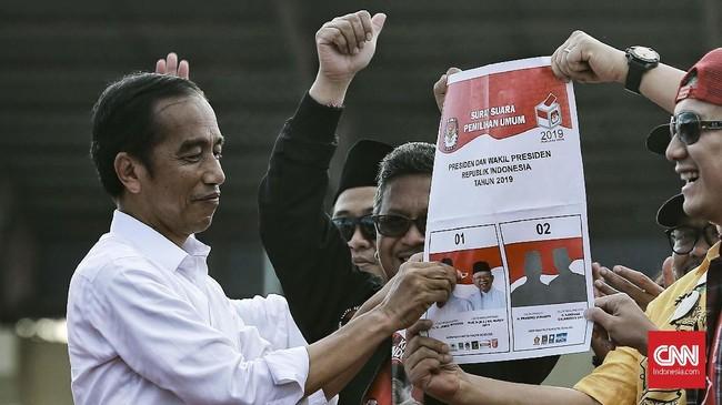 Kampanye terbuka Pilpres 2019 dimulai hari ini, Minggu (24/3). Jokowi memilih kampanye di Banten, sementara Prabowo menggelar acara di Manado, Sulawesi Utara.