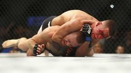 UFC 263: Adesanya Berbicara, Nate Diaz Isap Ganja
