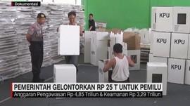 Pemerintah Gelontorkan Rp 25 Triliun untuk Pemilu
