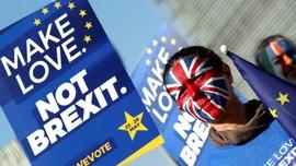 Parlemen Inggris Minta Tenggat Brexit Diundur Lagi