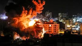 Balas Serangan Roket, Israel Kembali Serang Hamas di Gaza