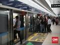 Sempat Ditutup, MRT Buka Kembali Enam Stasiun Bawah Tanah