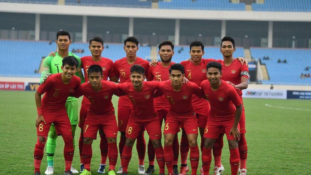 Jadwal Siaran Langsung Timnas Indonesia U-23 Vs Arab Saudi