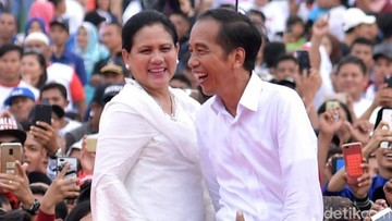 Ungkapan Hati Jokowi: Terimakasih Istriku, Iriana