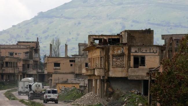 Amerika Serikat mengklaim Dataran Tinggi Golan sebagai wilayah Israel. Padahal, status kawasan itu masih sengketa antara Israel dan Suriah