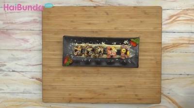 Resep Peanut Choco Banana Sushi, Camilan Lezat di Akhir Pekan