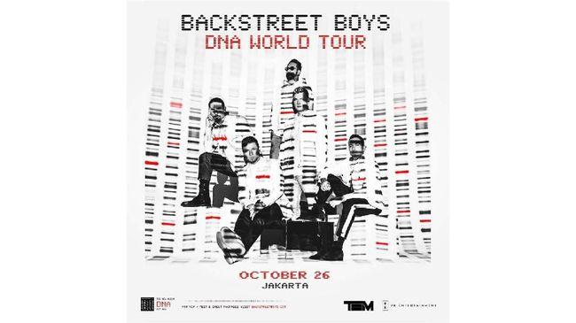 Backstreet Boys menjanjikan lagu-lagu hit seperti 'I Want It That Way,' selain karya musik baru mereka dalam album 'DNA.'