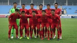 Hasil CFA Tournament: Indonesia U-23 Dikalahkan China 0-2
