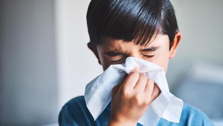 Si kecil sering bersin padahal sedang tidak flu? Bisa jadi dia mengalami alergi rhinitis, Bun.