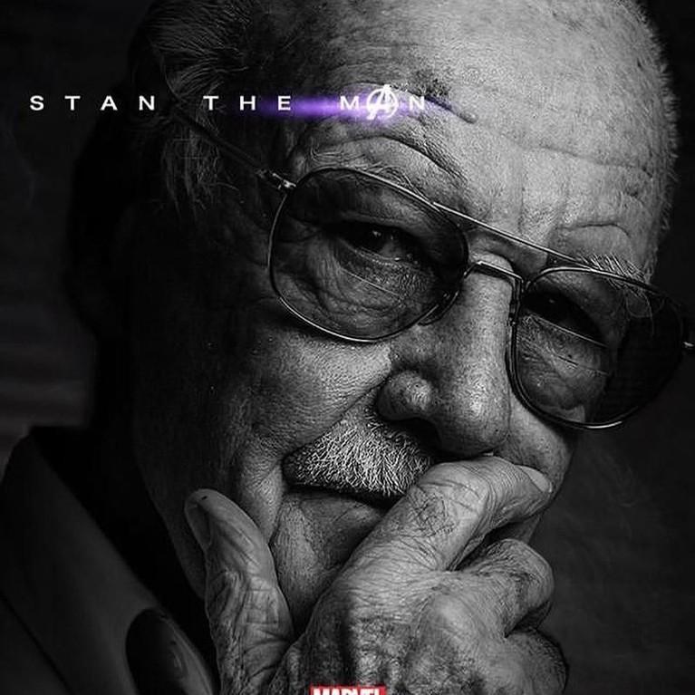Kalau ini sih sudah pasti keren, persembahan terakhir untuk kreator banyak tokoh Avengers. Selamat salan Stan Lee!