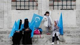 FOTO: Resah Hati Etnis Uighur di Turki