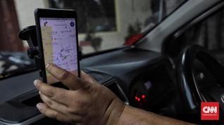 Sopir Taksi Online dan Jurus Andalan Cegah Covid-19